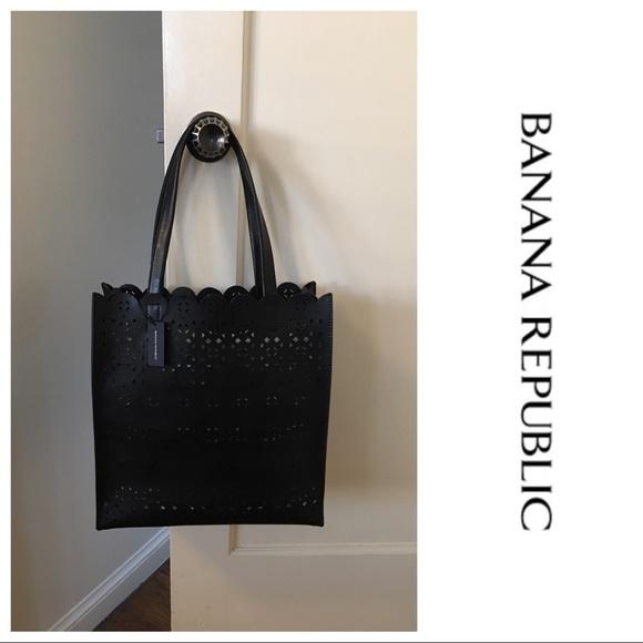 a80e2dba91b3 NWT Banana Republic Portfolio Structured Tote